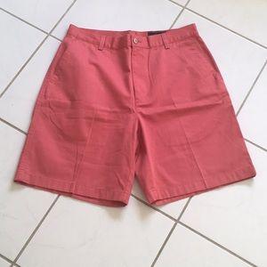 GREG NORMAN Flat Front Shorts NWOT SZ 32 🐊⛳️